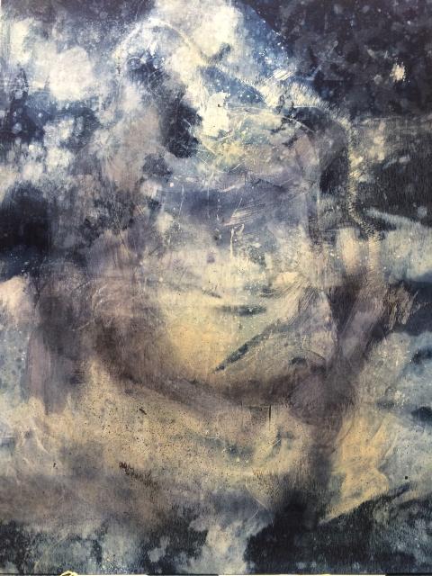 de ver azul artist long john blog jeans denim blue raw unwashed rigid blauw kunstwerk kunst colombia medellin juan manuel gomez painter art  (4)