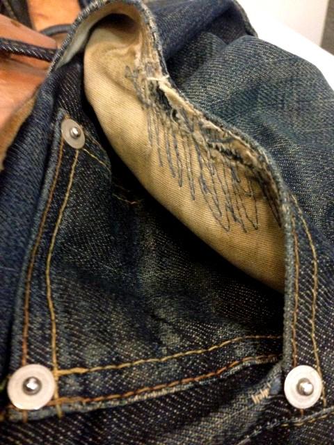 denham jeans the jeanmaker long john blog clinton repair guy westside den bosch holland event winkel store eat dust jeans fit 73 selvage japan fabric (13)