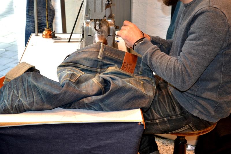 denham jeans the jeanmaker long john blog clinton repair guy westside den bosch holland event winkel store eat dust jeans fit 73 selvage japan fabric (3)