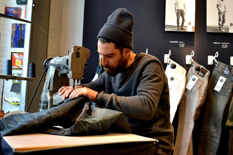 denham jeans the jeanmaker long john blog clinton repair guy westside den bosch holland event winkel store eat dust jeans fit 73 selvage japan fabric (7)