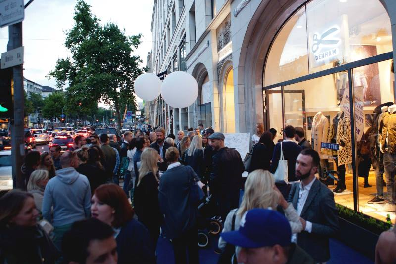 denham store dusseldorf september 2015 retail long john blog jeans denim winkel new nieuw clothing clothes blue indigo collection fall winter germany amsterdam (8)