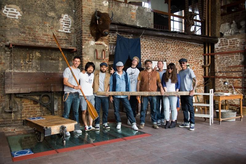 denim boulevard 2015 milan italy long john blog jeans event festival blue indigo miners cowboys brands antonio di battista expo crackers magazine (15)