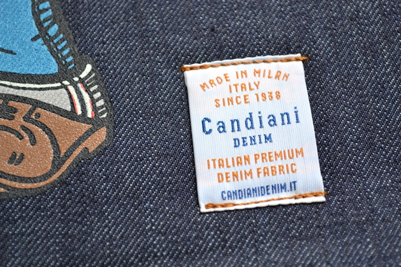 denim boulevard banner window long john blog jeans selvage selvedge davide biondi graphic design farmer candiani italy mill event fair milan 2015 italy  (6)