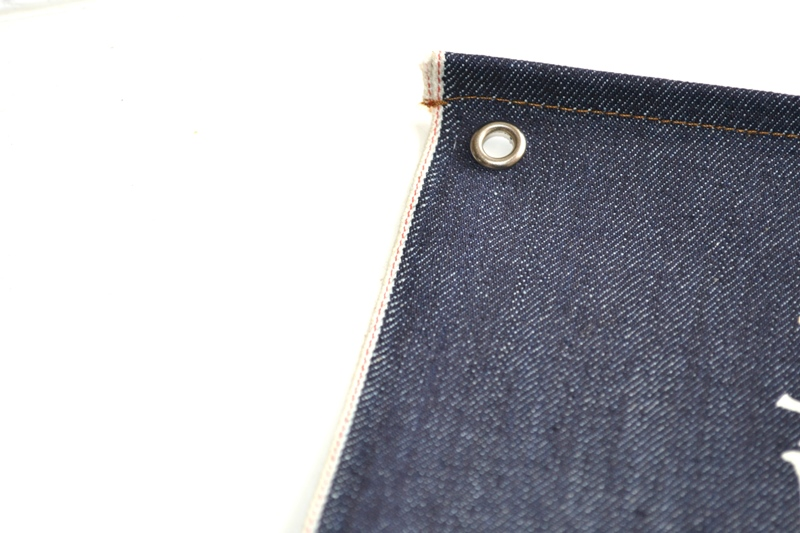 denim boulevard banner window long john blog jeans selvage selvedge davide biondi graphic design farmer candiani italy mill event fair milan 2015 italy  (8)