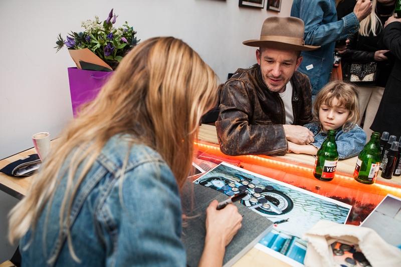 denim dudes event bolt london store long john blog amy leverton book launch shop jeans boys selvage selvedge vintage collectors designers vedett sailor jerry rum beer music people dude bandana (10)