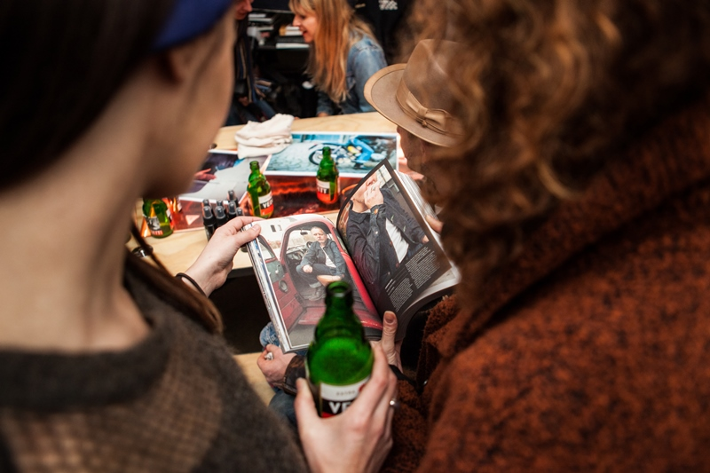 denim dudes event bolt london store long john blog amy leverton book launch shop jeans boys selvage selvedge vintage collectors designers vedett sailor jerry rum beer music people dude bandana (12)