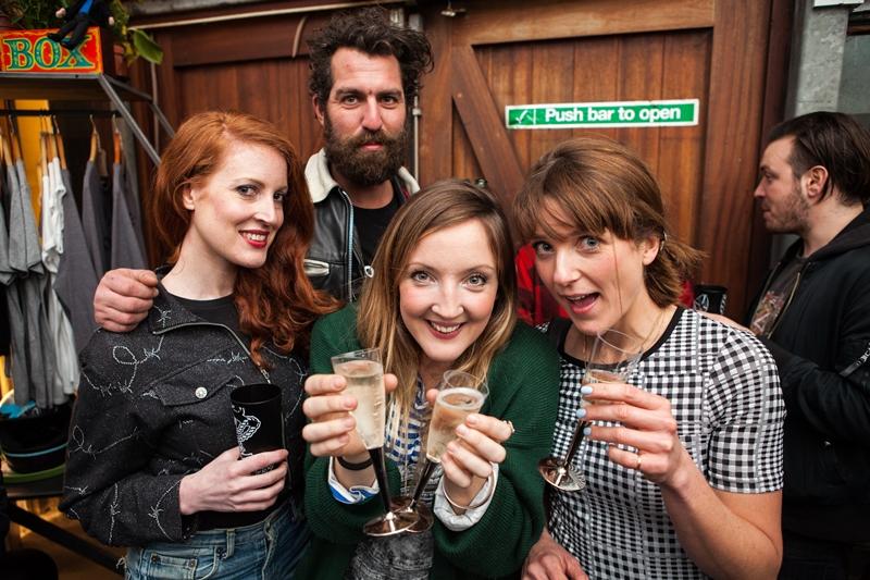 denim dudes event bolt london store long john blog amy leverton book launch shop jeans boys selvage selvedge vintage collectors designers vedett sailor jerry rum beer music people dude bandana (18)