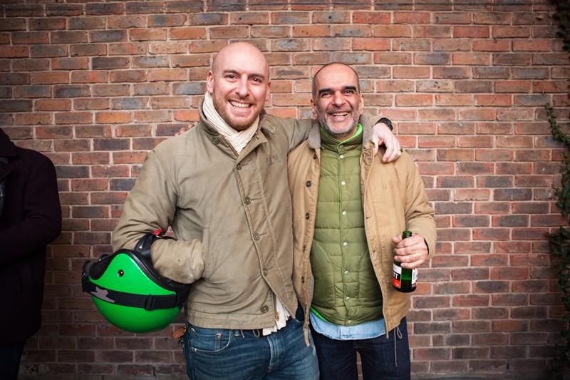 denim dudes event bolt london store long john blog amy leverton book launch shop jeans boys selvage selvedge vintage collectors designers vedett sailor jerry rum beer music people dude bandana (8)