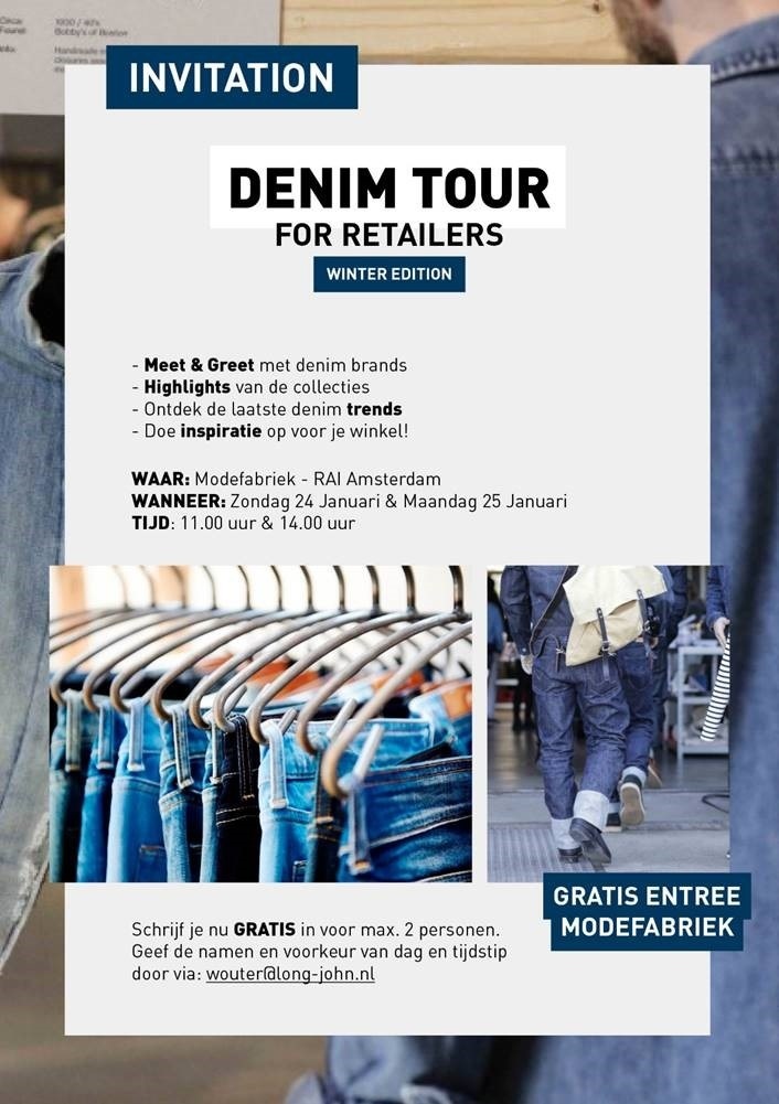 denim tour long john blog wouter munnichs modefabriek beurs fair jeans spijkerbroek rondleiding marketing expert winkels retail