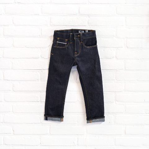 denimlab kids jeans denim long john blog selvage denim selvedge rigid stretch rigid unwashed dark blue (1)