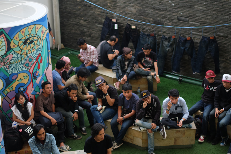 denimsquad indonesia long john blog denim jeans event fair java blue indigo speakers lectures (4)