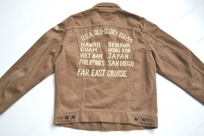 diesel-old-glory-long-john-blog-jacket-diesel-only-the-brave-1992-1993-vintage-old-authentic-italy-brown-lee-jeans-rider-emrboidery-patch-collectors-items-10