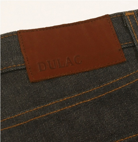 dulac denim jeans selvage long john blog raw rigid blue unwashed blue 5 pocket pocket flasher cone mills japan fabrics spijkerboek usa handmade authentic handgemaakt blauw  (10)