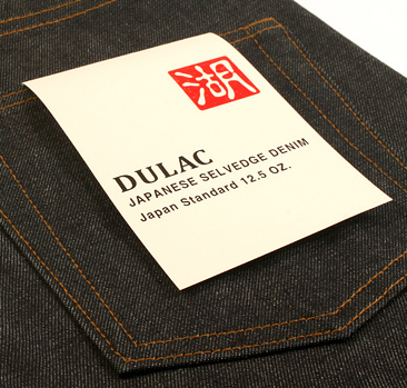 dulac denim jeans selvage long john blog raw rigid blue unwashed blue 5 pocket pocket flasher cone mills japan fabrics spijkerboek usa handmade authentic handgemaakt blauw  (11)