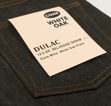 dulac denim jeans selvage long john blog raw rigid blue unwashed blue 5 pocket pocket flasher cone mills japan fabrics spijkerboek usa handmade authentic handgemaakt blauw  (5)