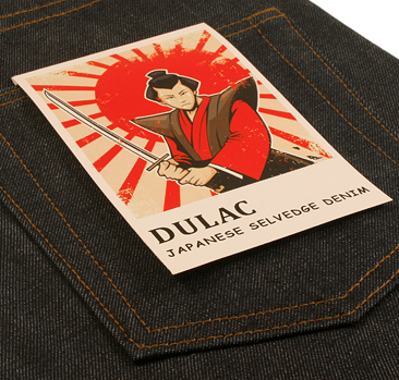 dulac denim jeans selvage long john blog raw rigid blue unwashed blue 5 pocket pocket flasher cone mills japan fabrics spijkerboek usa handmade authentic handgemaakt blauw  (8)