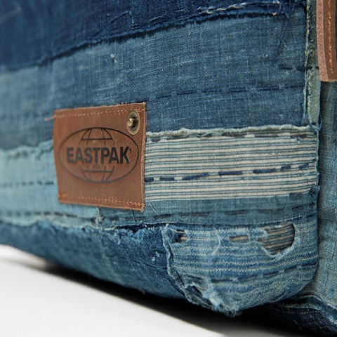 eastpak long john kuroki boro vintage special limited edition 2016 bag rugzak blue indigo patched patches east pak selvedge selvage  (6)