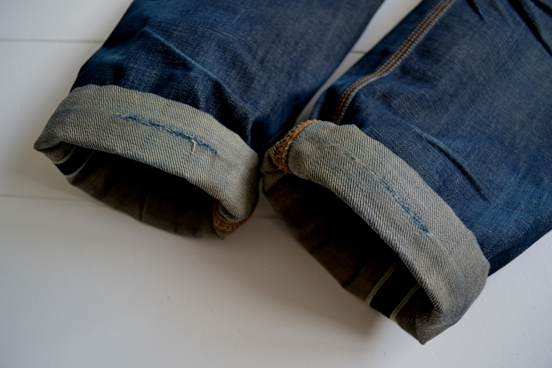 eat dust jeans denim clothing long john blog antwerp belgium rob harmsen keith hioco bikers fit 73 selvage selvedge blue japan fabric worn-out projects faded blue raw authantic (12)