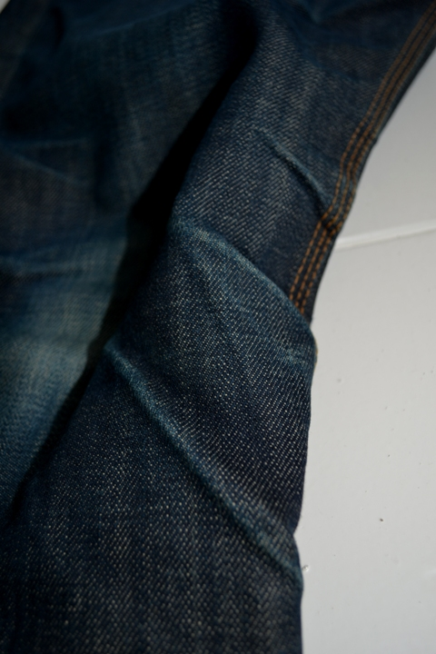 eat dust jeans denim clothing long john blog antwerp belgium rob harmsen keith hioco bikers fit 73 selvage selvedge blue japan fabric worn-out projects faded blue raw authantic (3)