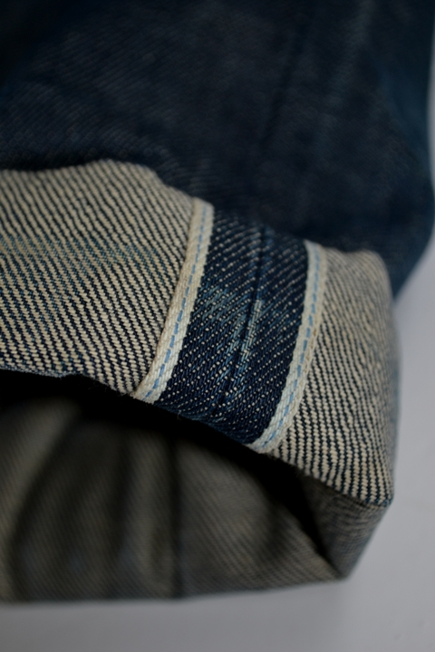 eat dust jeans denim clothing long john blog antwerp belgium rob harmsen keith hioco bikers fit 73 selvage selvedge blue japan fabric worn-out projects faded blue raw authantic (4)