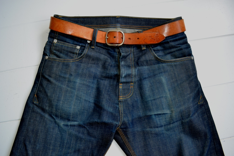 eat dust jeans denim clothing long john blog antwerp belgium rob harmsen keith hioco bikers fit 73 selvage selvedge blue japan fabric worn-out projects faded blue raw authantic (8)