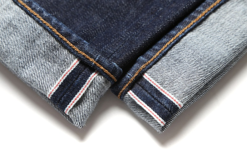 edwin jeans liberty london jeans ed-80 long john blog selvage selvedge all over fabric japan raw rigid blue unwashed faded authentic store flowers exclusive 5 pocket spijkerbroek (5)