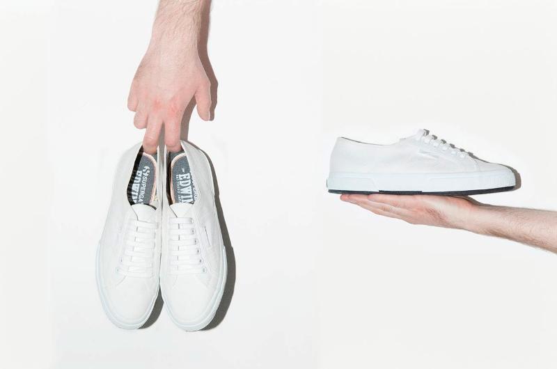 edwin jeans superga collab long john blog collaboration sneaker footwear shoes white 2015 japan patta kicks fading indigo jeans denim 1947 (2)