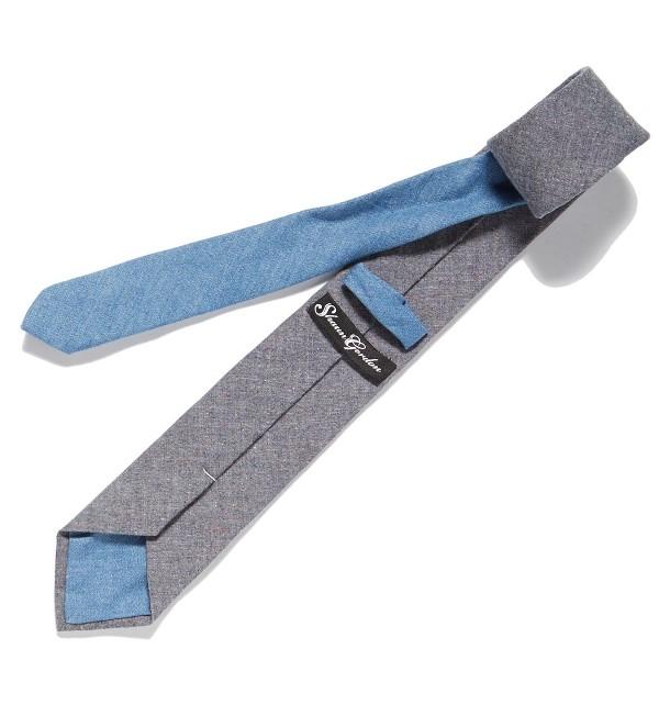 endrime hand stitch bow tie selvage long john blog mohsin sajid uk london england jeans denim fabric handmade selvedge blue indigo suit product unwashed raw  (3)