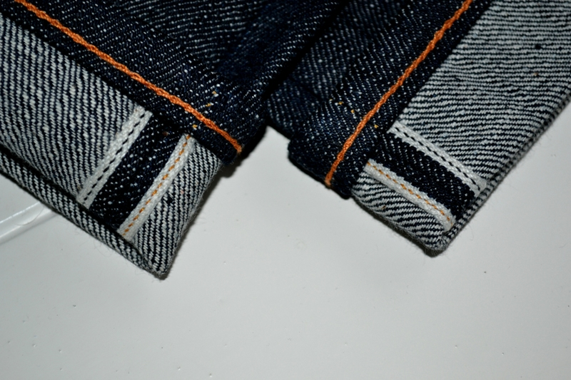evisu evis japan long john blog orange tab homage to levi's jeans denim rigid raw selvage tribute limited edition selvedge right hand denim 5 pocket spijkerbroek eerbetoon pocket flasher leather leer patch  (5)
