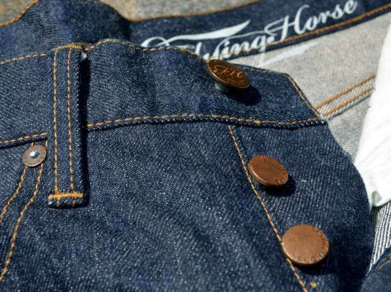 flying horse jeans denim long john blog indigo shuttle loom vintage ring spun dips authentic uk unsanforized 5 pocket selvage selvedge shrink to fit classic (4)