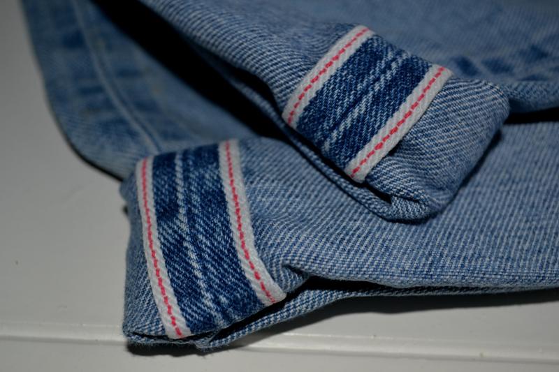 gapstar g-star us second us lumber jeans denim long john blog amsterdam nl holland pants vintage selvage selvdge red line left hand fabric soft  (5)