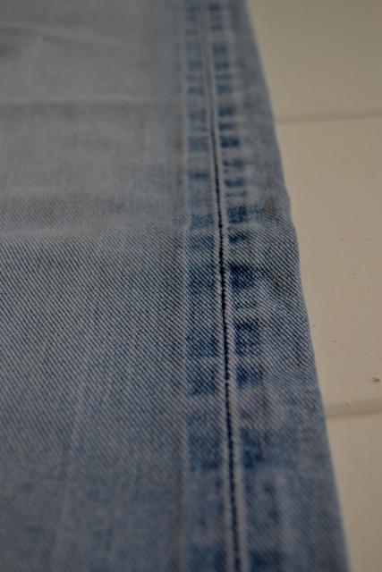 gapstar g-star us second us lumber jeans denim long john blog amsterdam nl holland pants vintage selvage selvdge red line left hand fabric soft  (6)