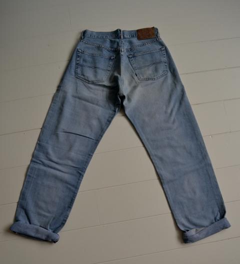 gapstar g-star us second us lumber jeans denim long john blog amsterdam nl holland pants vintage selvage selvdge red line left hand fabric soft  (7)