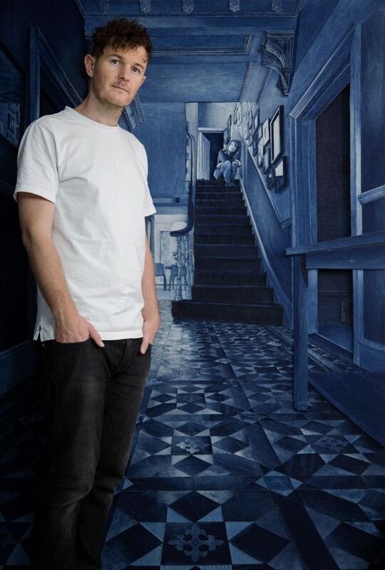 ian-berry-behind-closed-behindcloseddoors-doors-expo-2016-long-john-blog-blue-jeans-denim-indigo-handmade-denimart-art-blue-art-london-artist-36