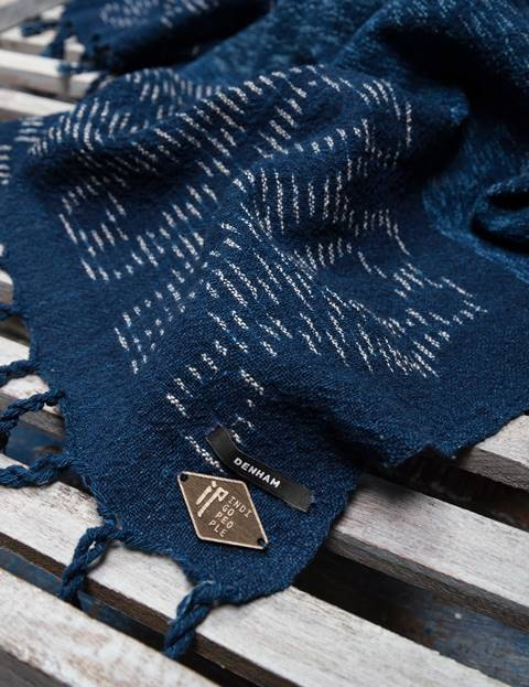 indigo people denham jeans scarf scarves sjaal long john blog denim jeans blue natural indigo dyed handloom woven fabric kiat  (3)