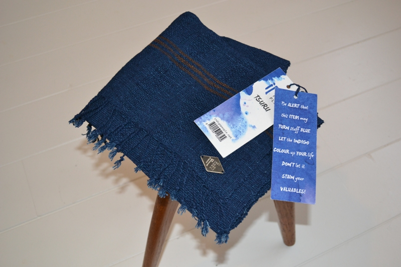 indigo people scarfs long john blog blue denim holland handwoven hand made natural indigo blue sjaal handgemaakt tsuru 2014 xmas gift (13)