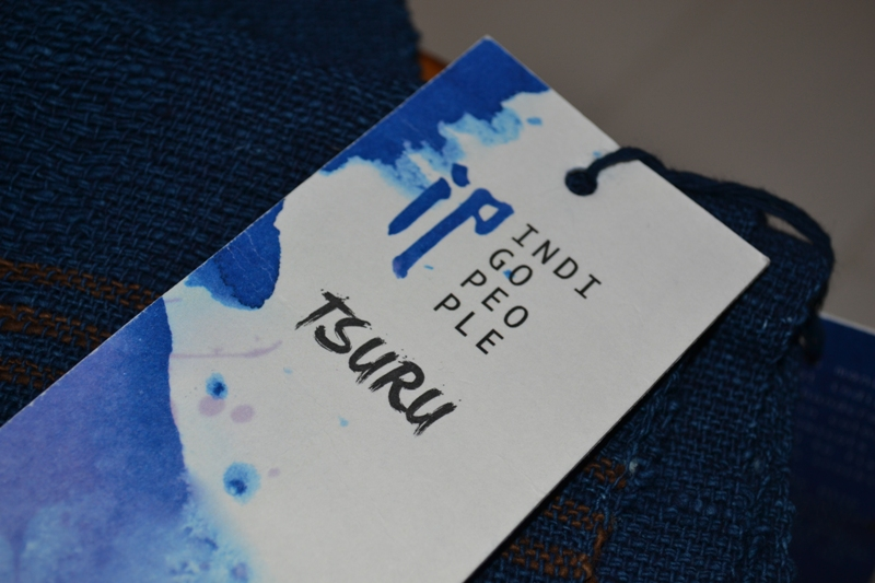 indigo people scarfs long john blog blue denim holland handwoven hand made natural indigo blue sjaal handgemaakt tsuru 2014 xmas gift (16)