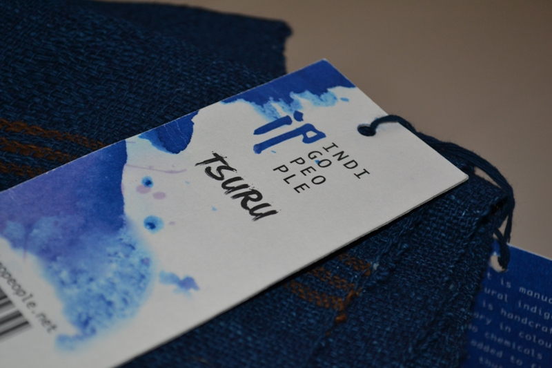indigo people scarfs long john blog blue denim holland handwoven hand made natural indigo blue sjaal handgemaakt tsuru 2014 xmas gift (17)
