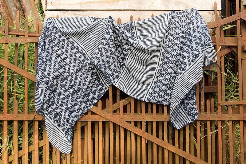 indigo people spring 2017 summer longjohnblog long john indigo blue scarf scarves kiat ikat handloom shuttle loom handmade natural indigo patterns (8)