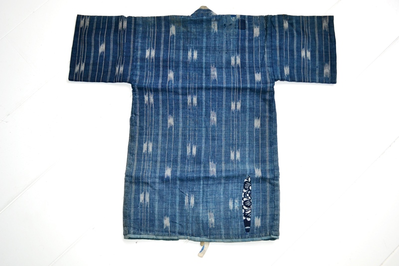 japan kimono longjohnblog long john blue indigo vintage authentic traditional naturalindigo handmade craftsmanship 1930 (10)