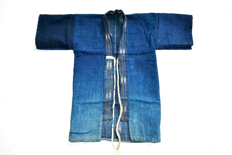 japan kimono longjohnblog long john blue indigo vintage authentic traditional naturalindigo handmade craftsmanship 1930 (13)