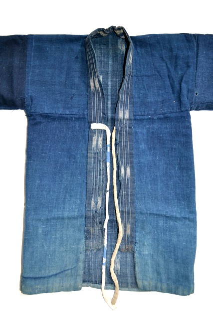japan kimono longjohnblog long john blue indigo vintage authentic traditional naturalindigo handmade craftsmanship 1930 (14)