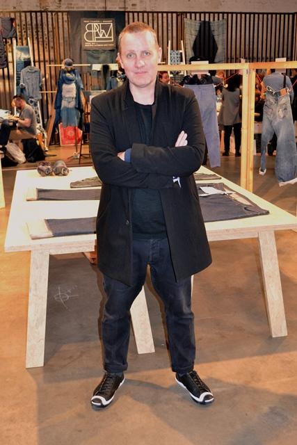 jason denham denham brand uk long john blog kingpins fabric fair amsterdam jeans show event 2015 seven senses fabric stand booth selvage selvage