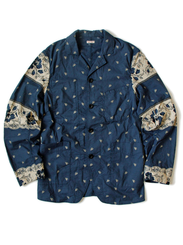 kapital japan jacket long john blog blue indigo clothing fashion kleding japans jasje workwear blauw fishing buttons knopen (3)
