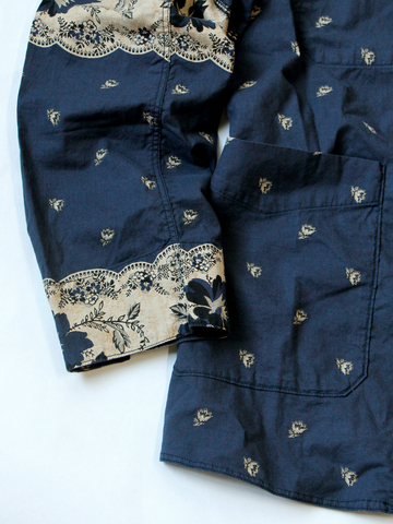 kapital japan jacket long john blog blue indigo clothing fashion kleding japans jasje workwear blauw fishing buttons knopen (5)