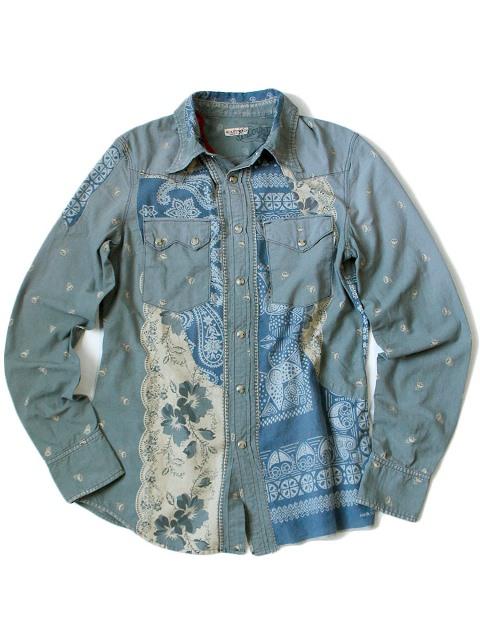 kapital japan long john blog denim jeans shirts jackets jack boro sashiko stitching embroidery handmade blue indigo spring summer 2016 (2)
