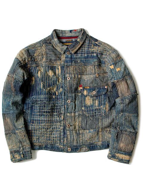 kapital japan long john blog denim jeans shirts jackets jack boro sashiko stitching embroidery handmade blue indigo spring summer 2016 (3)