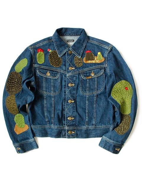 kapital japan long john blog denim jeans shirts jackets jack boro sashiko stitching embroidery handmade blue indigo spring summer 2016 (6)