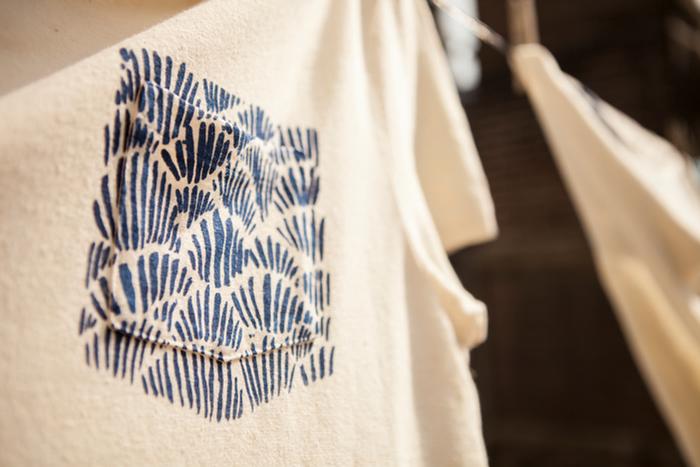 kurt kurt's amsterdam long john sebastian sebastiaan gerittsen hemp tshirts shirts t-shirts print printed indigo blue blauw handmade portugal made silk screen limited edition kickstarter 2015 (17)
