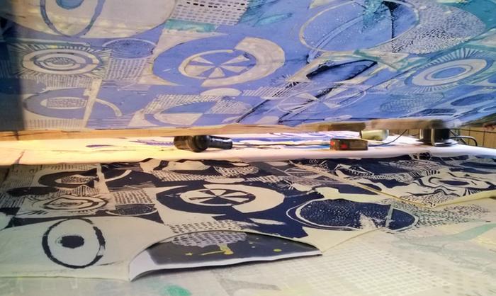 kurt kurt's amsterdam long john sebastian sebastiaan gerittsen hemp tshirts shirts t-shirts print printed indigo blue blauw handmade portugal made silk screen limited edition kickstarter 2015 (20)